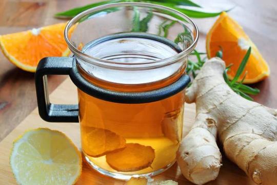 Herbatka cytrynowo-imbirowa