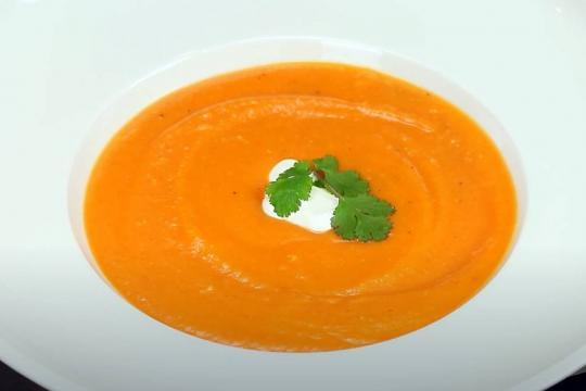 Zupa krem marchewkowo-imbirowa
